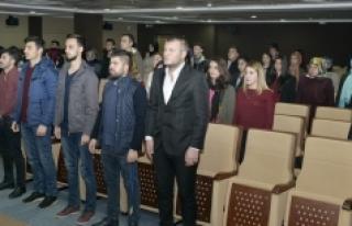 KMÜ'de Şehitleri Anma Programı Düzenlendi
