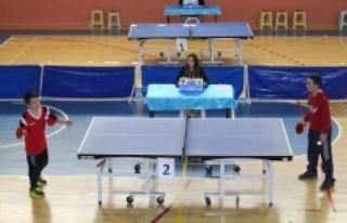 Küçükler Masa Tenisi Müsabakaları Sona Erdi