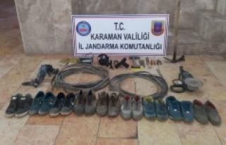 Trafo Ve Kablo Hırsızları Yakalandı