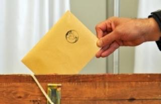 171 Bin 3 Kişi Anayasa Değişikliği İçin Oy Kullanacak