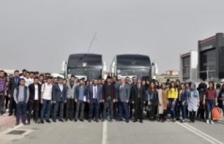 300 KMÜ Öğrencisi Çanakkale Gezisi İçin Yola...