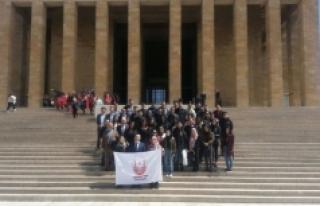Hollanda Türk Federasyonu Öğrencilerinden KARYAD'a...