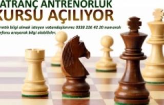Satranç Antrenörlük Kursu Açılıyor