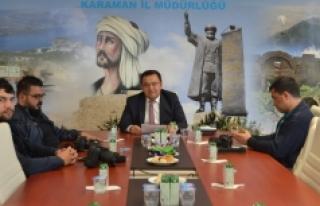 Karaman SGK Basın Toplantısı Düzenledi