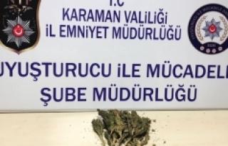 Karaman'da Uygulama Noktasından Kaçan Otomobilden...