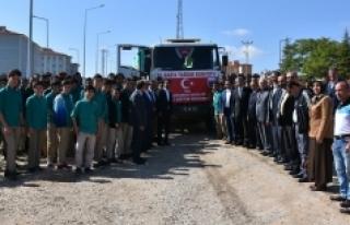 Milli Eğitim Müdürlüğü Suriye'ye İkinci Yardım...