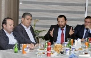 Rektör Mehmet Akgül, İşadamlarıyla Buluştu