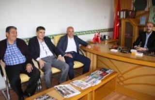 Başkan Çalışkan'dan MHP Ve Ülkü Ocaklarına...