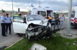 Otogar Kavşağındaki Kazada 5 Kişi Yaralandı