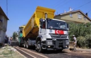 Asfalt Çalışmaları Yenişehir Ve Sümer Mahallesi'nde...