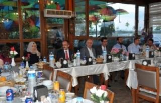 Cumhuriyet Başsavcısı Alan'a Veda Yemeği Düzenlendi