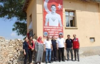 Gençlik Merkezi'nden 15 Temmuz Şehidi Yalçın'a...