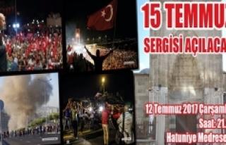 Karaman'da 15 Temmuz Sergisi Açılacak