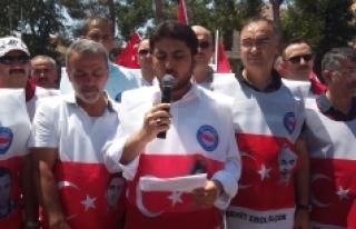 """Karaman'da """"15 Temmuz Şehitleri"""" Anıldı"""