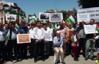 Karamanlı STK'lardan İsrail'e Mescid-i Aksa...