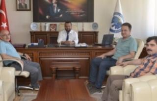 Rektör Akgül'e Öğretim Üyelerinden Ziyaret