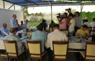 """Vali Fahri Meral: """"Karaman Yatırım Yapılabilir..."""