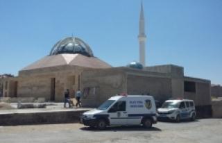 Camii İnşaatında Kaza
