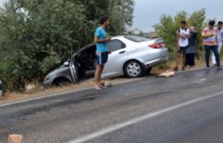 Karayoluna Sızan Motorin Kazalara Sebep Oldu