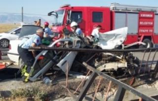 Konya Yolundaki Kazada: 1 Ölü 1 Yaralı
