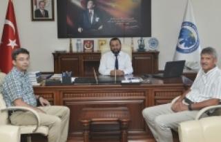 Rektör Akgül, Duru Bulgur Yönetim Kurulu Başkanını...
