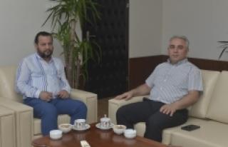 Rektör Akgül, Karaman Ağır Ceza Mahkemesi Başkanını...