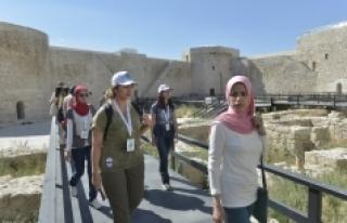Yabancı Uyruklu Öğrenciler Karaman'ı Keşfediyor