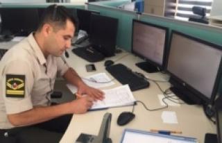 156 Jandarma İmdat Karaman 112 Acil Çağrı Merkezine...