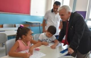 İl Milli Eğitim Müdürü Mevlüt Kuntoğlu Okul...