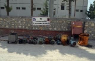 Karaman'da Maden Ocağından Hırsızlık Yapan...