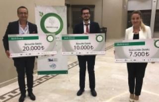 KMÜ Öğrencisine İkincilik Ödülü