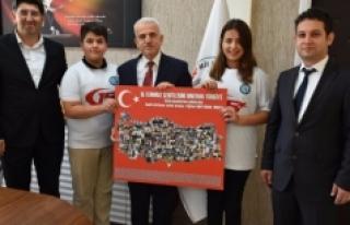 Özel Karaman Başarı Ortaokulu'ndan Kuntoğlu'na...
