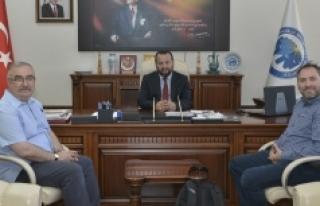 Yağcı Ve Şen'den Rektör Akgül'e Ziyaret