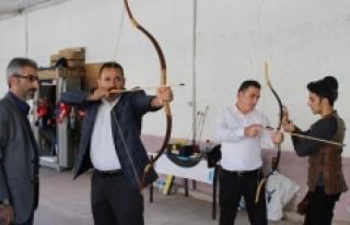 Karaman'da Geleneksel Türk Okçuluğu Tanıtımı...