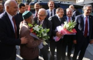 Bakan Eroğlu Ve Bakan Elvan Karaman Belediyesi'ni...