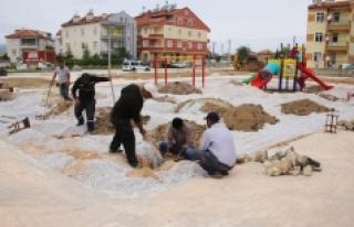 Belediyeden Sosyal Ve Yeşil Alan Çalışmalarında...
