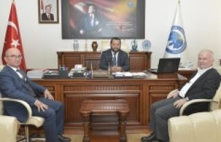 Gaziosmanpaşa Üniversitesi Rektöründen KMÜ Rektörü...