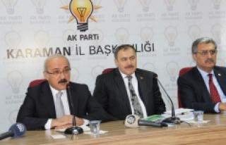 """Kalkınma Bakanı Elvan: """"Milletin Seçtiği..."""