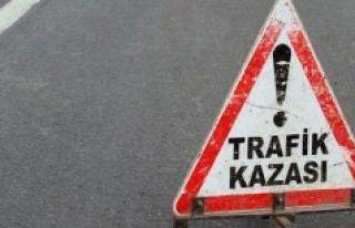 Karaman'da Hafif Ticari Araç Ağaca Çarptı:...