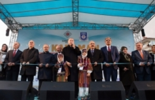 Cumhurbaşkanı Erdoğan Karaman'da Toplu Açılış...