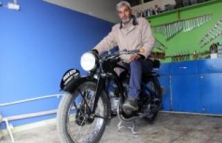 İkinci Dünya Savaşını Görmüş Motosiklet, Hala...