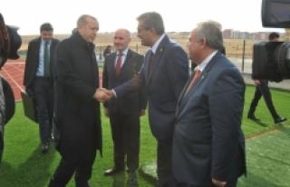 Konuk Ve Şeker'den Cumhurbaşkanı Erdoğan'a...