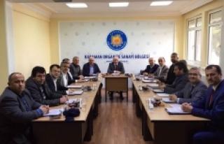 OSB Müteşebbis Heyeti Yılın Son Toplantısını...