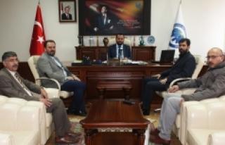 Sivil Toplum Kuruluşlarından Rektör Akgül'e...