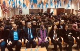 Ak Parti Kadın Kolları Kongresini Yaptı