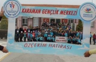 Karaman Gençlik Merkezinden Köy Okullarına Kitap...