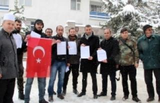 Karaman'da Vatandaşlar, Afrin Operasyonuna Katılmak...