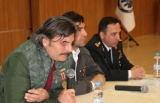 """Karaman'da """"Şehit ve Gazilere Saygı""""..."""