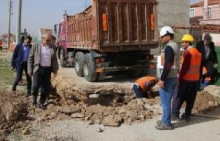Karaman'da Doğalgaz Çalışmalarının % 95'lik...