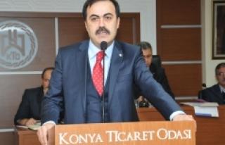"""Konya Ticaret Odası Başkanı Selçuk Öztürk: """"Serbest..."""